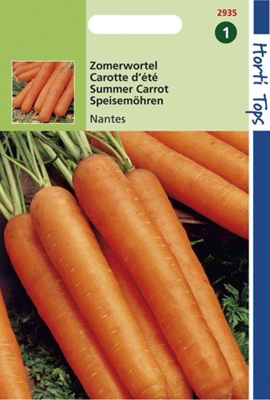 Hortitops Zaden - Wortelen Nantes - 2 Halflange