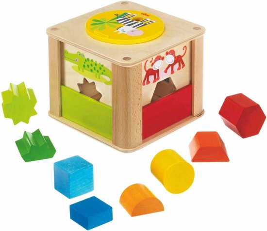 Haba Sorteerbox Peuterspeelgoed Dierentuindieren