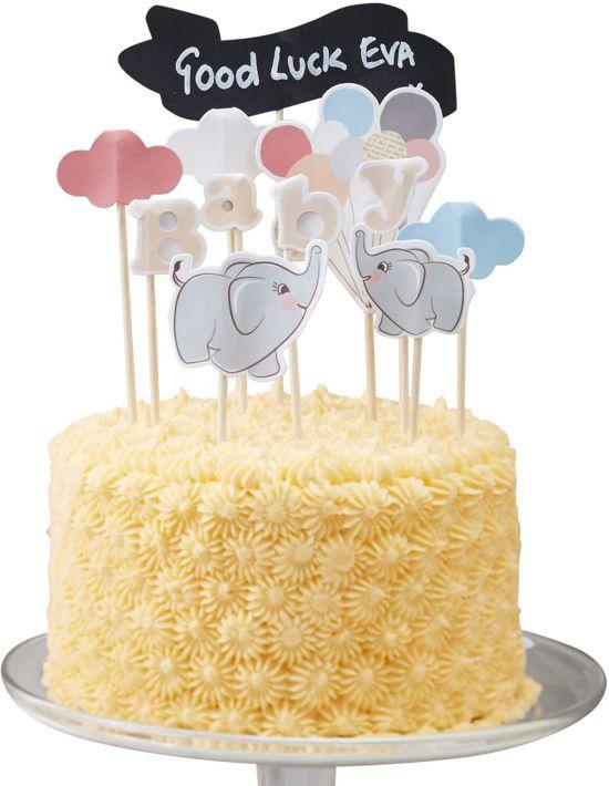 Cake versiering - Little One (11 stuks) Valentinaa