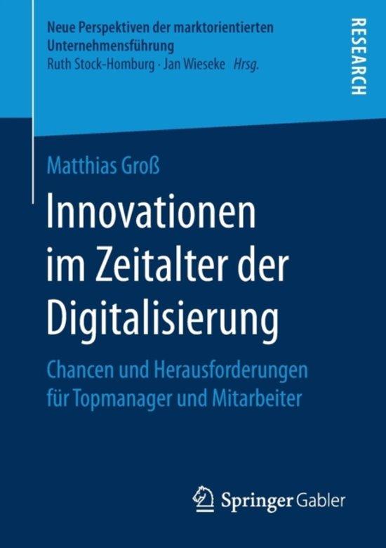 Innovationen Im Zeitalter Der Digitalisierung