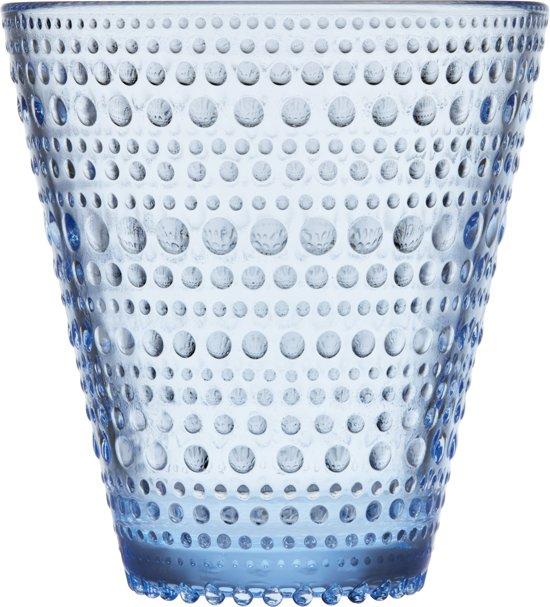 Iittala Kastehelmi Glas - 30 cl - Aqua - 2 stuks