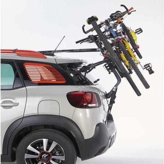 Betere bol.com | Mottez - Fietsendrager high mount (voor 3 fietsen) HL-46