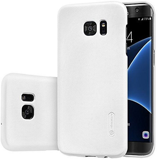Nillkin Super Frosted Shield Backcover voor de Samsung Galaxy S7 edge - White in Escanaffles