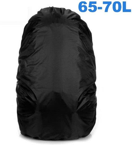 febd76e9a20 Flightbag Regenhoes Waterdicht voor Backpack Rugzak - 65-70 Liter Regenhoes  – Zwart