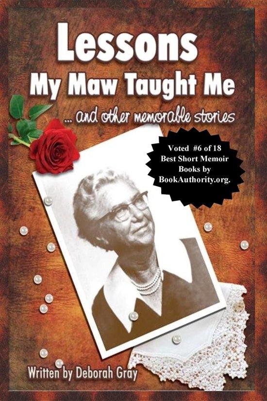 Boek cover Lessons My Maw Taught Me van Deborah Gray (Onbekend)