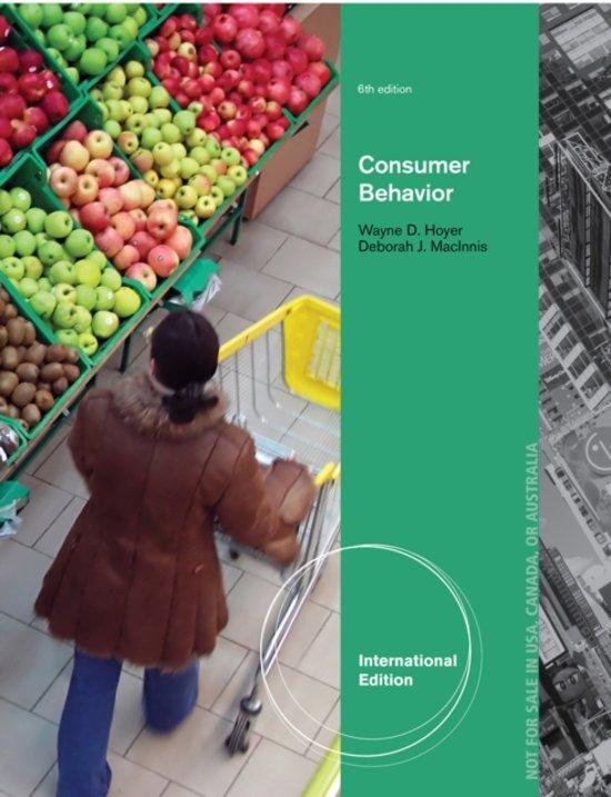 consumer behaviour 6th edition pdf