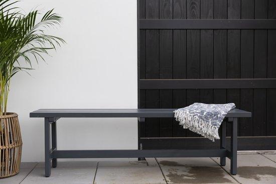 MaximaVida luxe tuinbank antraciet 160 cm