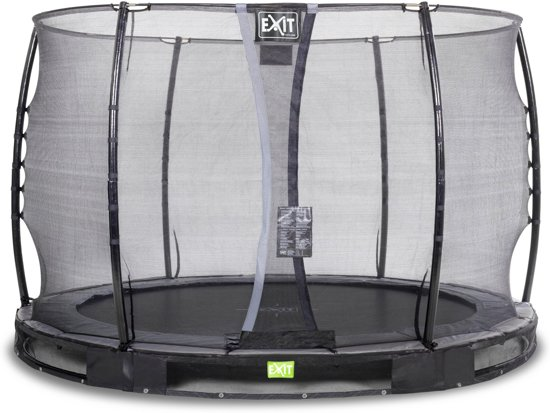 """""""EXIT Elegant Inground Trampoline à 305 cm met Veiligheidsnet """""""
