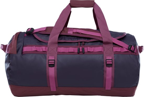 The North Face Base Camp Duffel Reistas M - 69 L - Galaxy Purple/Crushed Violets - vernieuwd model