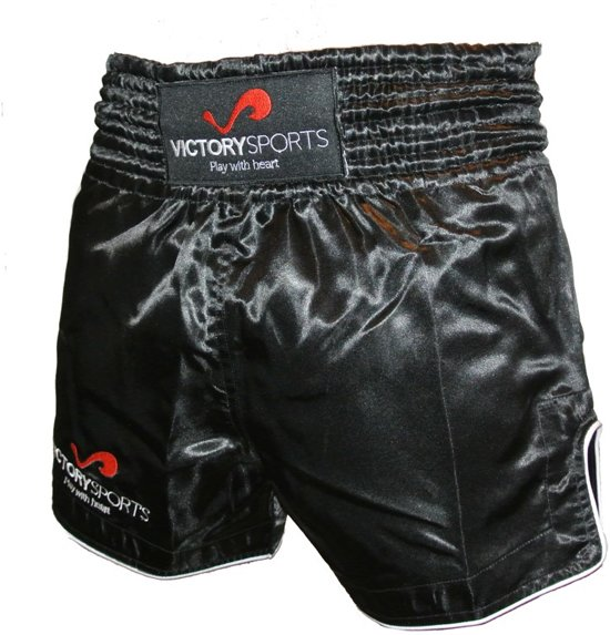 Victory Sports Fightshort Zwart Small