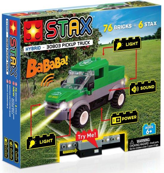 STAX Hybrid Pickup Truck bouwen met licht en geluid