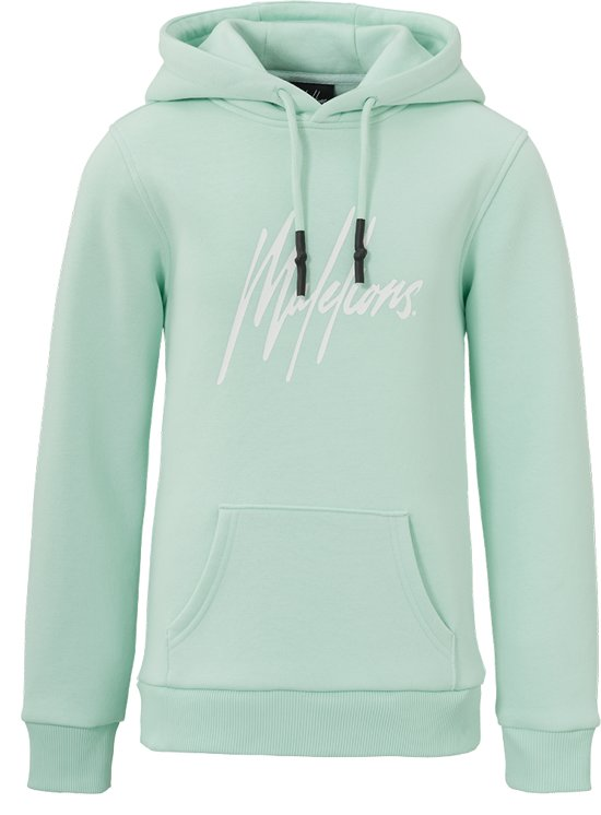 Malelions Junior Hoodie Signature - Mint Green