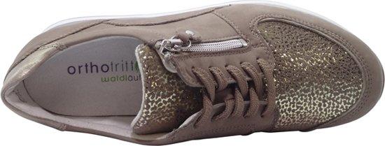Waldlaufer Sneakers H64007 302 921 Nubuck Stretch Beige Lichtgoud 38.5
