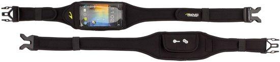 Avento Smartphone Sport Riem - Zwart/Zilver/Fluorgeel
