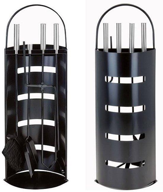 Zwart 5-delige Home /& Styling Openhaardset