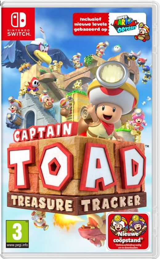 Cover van de game Captain Toad: Treasure Tracker - Switch