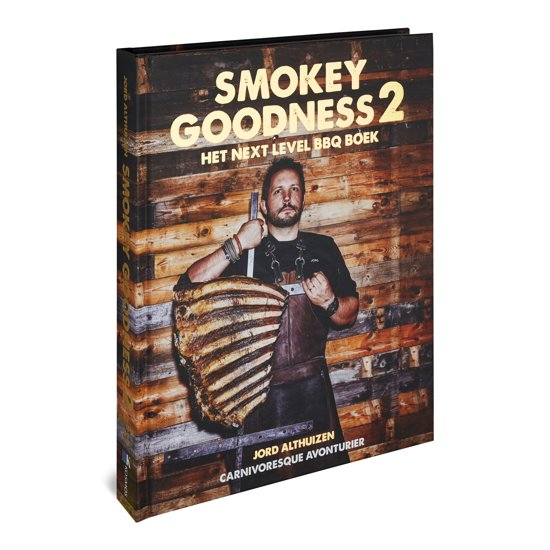 Boek cover Smokey goodness 2 van Jord Althuizen (Hardcover)
