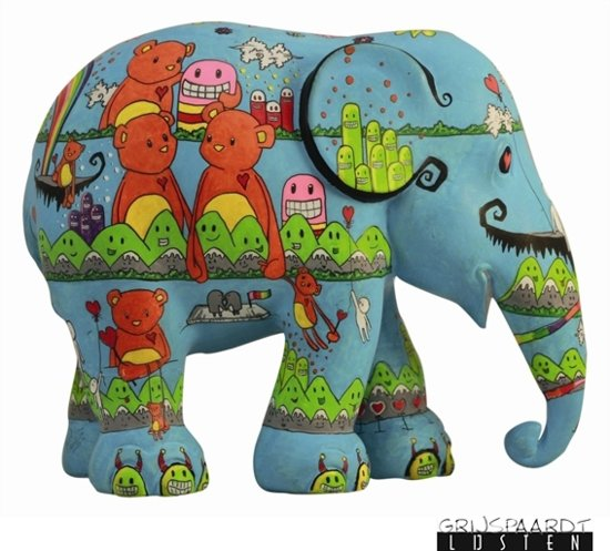 Happiness is for Everyone - Elephant Parade - 15cm