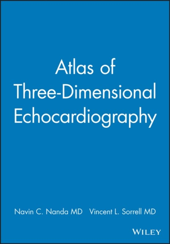Atlas of Three-Dimensional Echocardiography