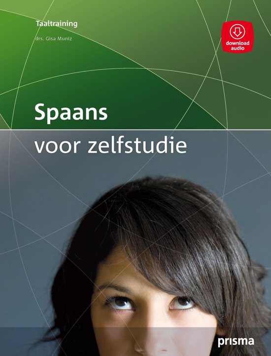 Boek cover Prisma Taaltraining - Spaans voor zelfstudie van Gisa Muniz (Paperback)