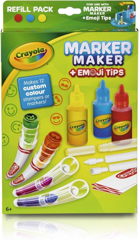 Crayola Emoji Marker Maker navulling