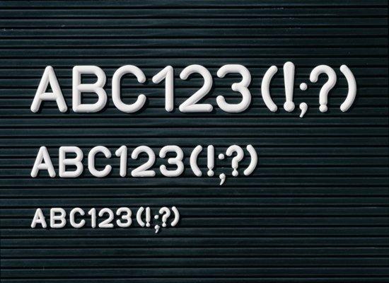 Letterbord hoog 80 x breed 60cm