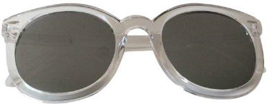 19e38647bfaecf Coole zonnebril met weerspiegelende glazen