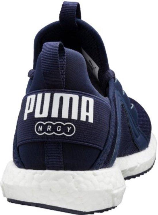 Sneakers Mega Puma Jr Nrgy Kids white Peacoat qvSHawx