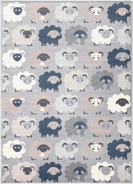 Kindertapijt met schaapjes - 160 x 220 cm