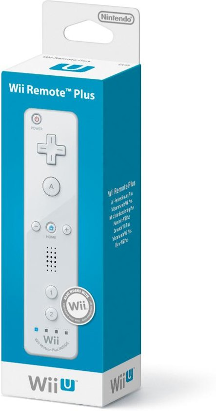 Nintendo Wireless Remote Controller - Wit (Wii + Wii U)