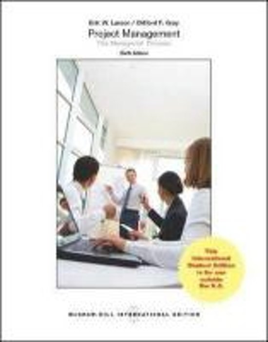 Boek cover Project Management van Clifford F. Gray (Paperback)