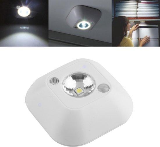 bol.com | LED Kastlamp Met Bewegingsmelder Sensor - Kastverlichting ...
