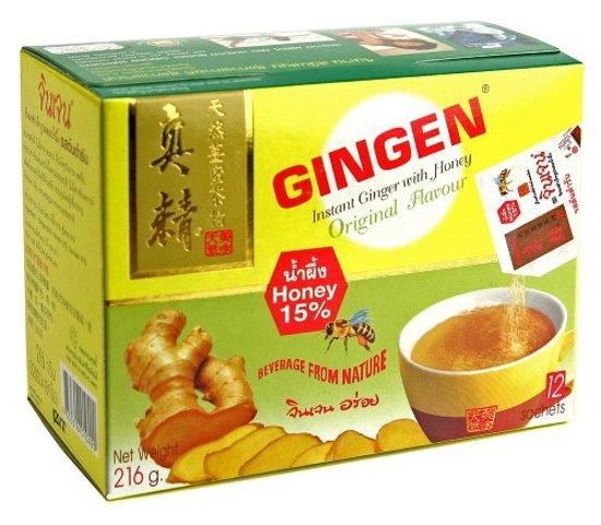 Gingen Thaise Gember thee met Honing