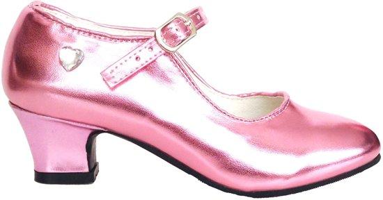 Prinsessen Schoenen Pink bij prinsessenjurk - mt 35/36