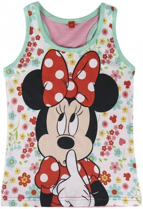 Minnie Mouse singlet voor meisjes 110 (5 jaar)