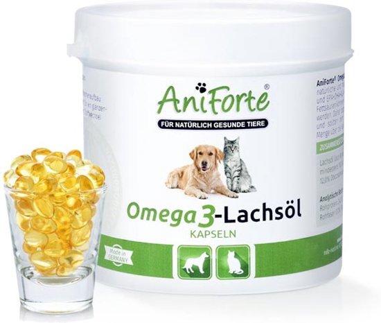 AniForte® - Omega-3 Zalmolie Capsules - (200 stuks)