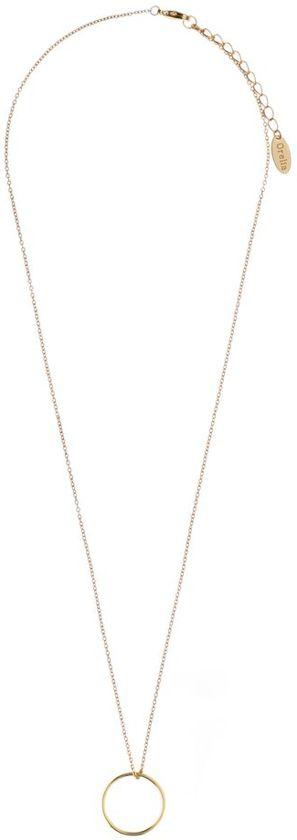 Orelia ORE21028 Ketting - Dames - goudkleurig - 40,5cm+5cm