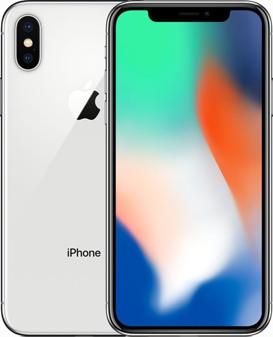 Apple iPhone X - 64GB - Zilver