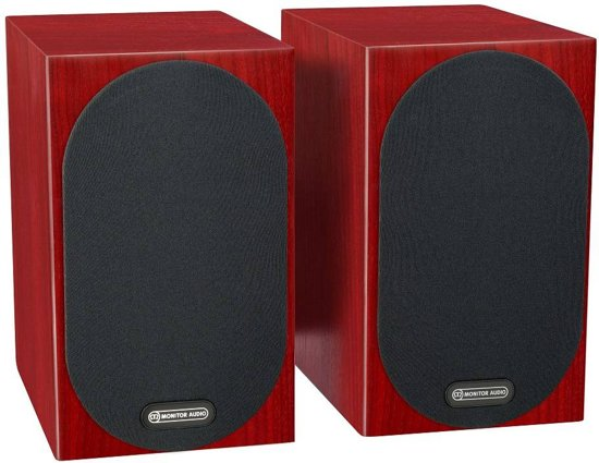 Monitor Audio Silver 50 - Boekenplank Speaker - Rood