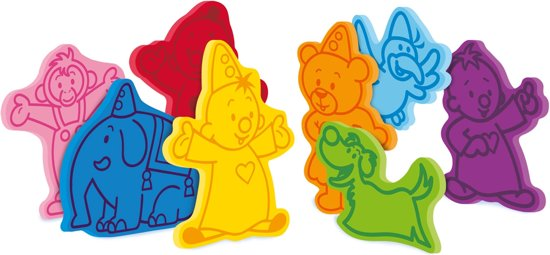 Afbeelding van Bumba : badfiguurtjes in foam speelgoed