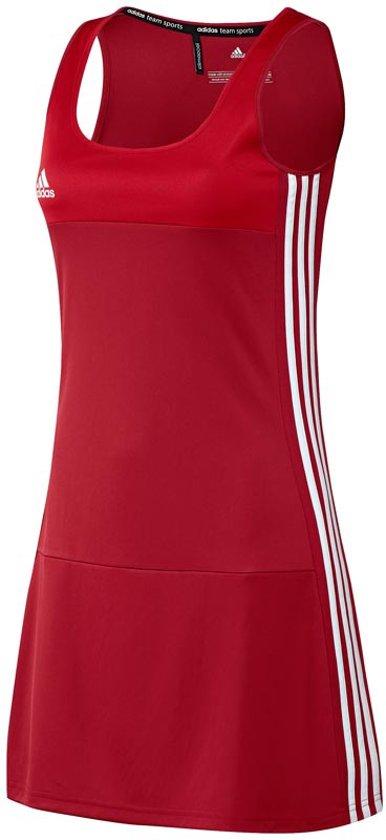 Rood L Jurk Adidas DamesShirts T16 'oncourt' hrdtQs