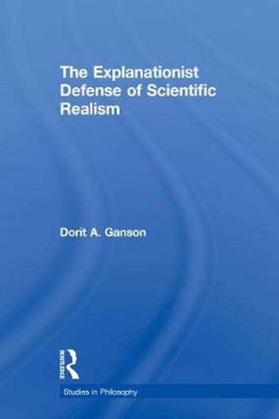The Explanationist Defense of Scientific Realism