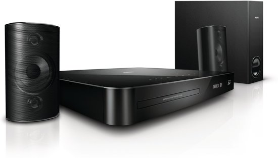 Philips HTS4282 - 2.1 Blu-Ray Home cinema set