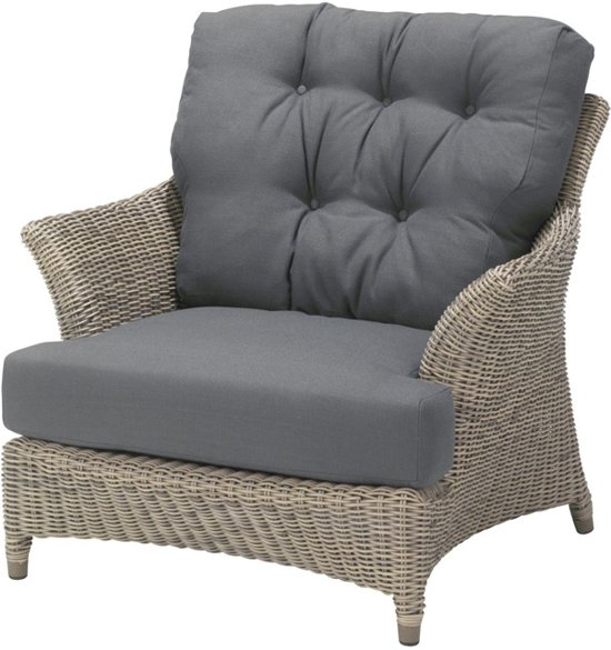fonteyn Tuinset Outdoor Valentine living chair with 2 cushions 68 x 98