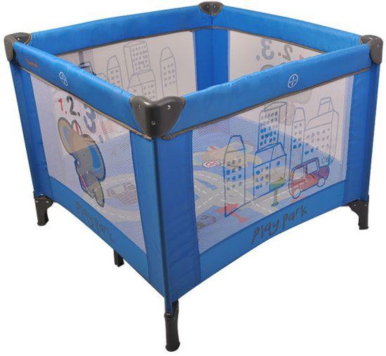 Campingbed en Box inklapbaar Baninni Blue