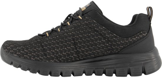 Skechers Dames Zwarte Sneaker Memory Foam - Maat 37