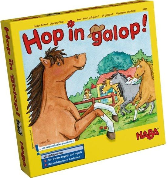 Haba Spel Spelletjes vanaf 3 jaar Hop in Galop