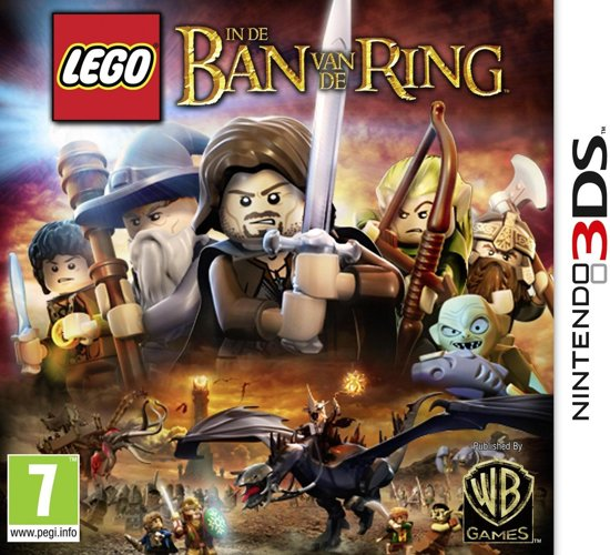 LEGO: Lord Of The Rings - 3DS