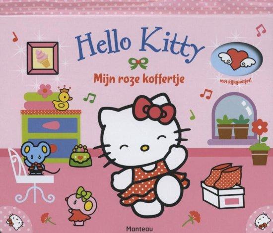 Boek cover Hello Kitty - Mijn roze koffertje van  (Hardcover)