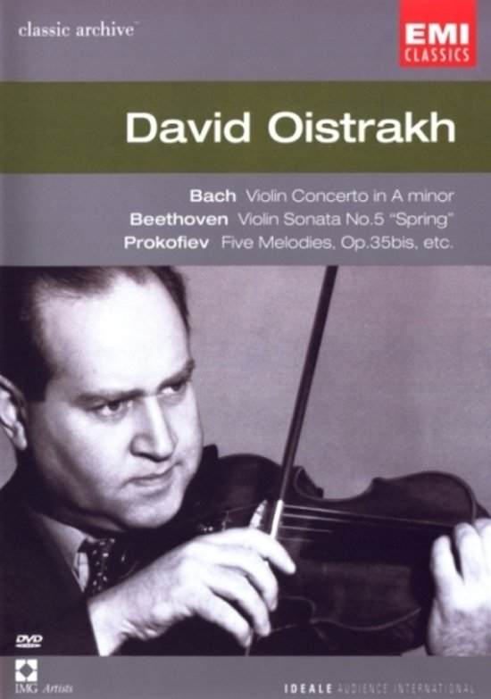 David Oistrakh - Classic Archive Dvd Series